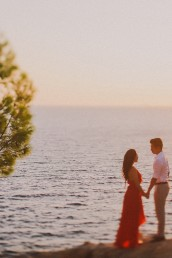 Engagement photography Hvar Croatia