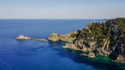 Aero Photography cinematography ibiza spain