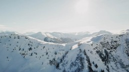 Aero Photography cinematography saalbach